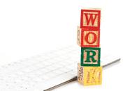 Work word and keyboard