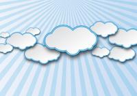 nuage ciel illustration