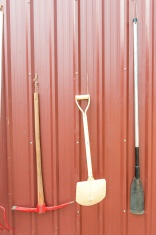 Various farming tools and equipments