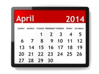 April 2014 - Calendar series