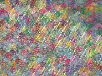 3d impressionistic glass render backdrop in multiple color