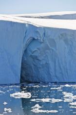 Huge iceberg in the Jacobshavn icefjord, Greenland