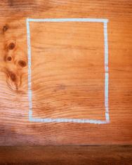 Wooden Chalk Board Background