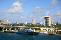 Southern Fort Lauderdale, Florida, USA.