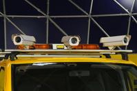 CCTV camera vehicle