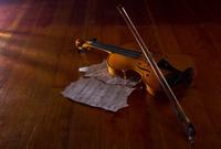Violin sheet and music