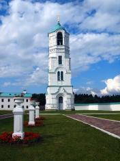 Belltower of the Holy Trinity Alexander Svirsky Monastery