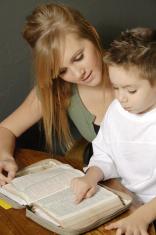 Teach a child