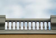 Balcony Against Blue Sky