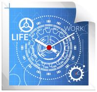 Technical Illustration - Managing Work life balance