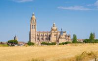 Segovia Cathedral in Spain