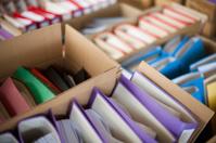 Box Files In Storage
