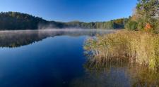 Asveja (Dubingiai) lake, Lithuania.