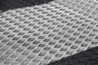 Diamond plate floor