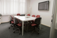 empty meeting and working office room in ankara turkey