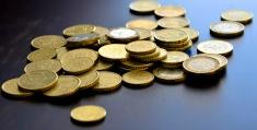 Coins spread