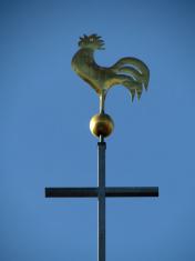 Golden Weather Cock
