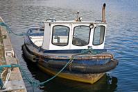 Vintage motor boat