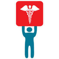 doctor and caduceus symbol