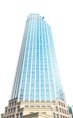 skyscraper isolated
