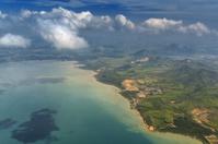 aerial coast view