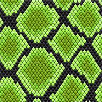 Green seamless pattern of reptile skin