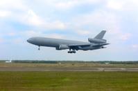 US Airforce Military Jet landing