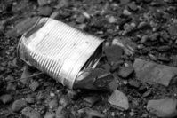 Discarded Litter: Tin Can