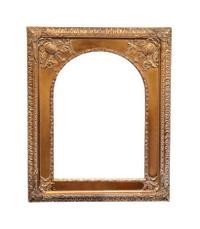 Grunge gold frame