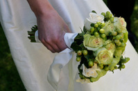 Wedding Bouquet greens