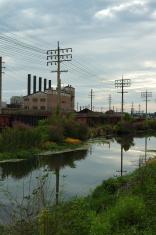 American industrial landscape