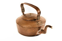 Antique Handmade Copper Kettle