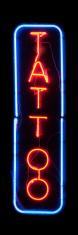 Neon light : Tattoo