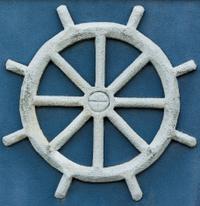 Sand Ship Wheel