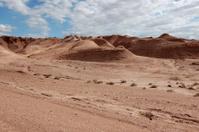 hilly desert landscape