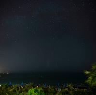 Evening Stars on the Beach