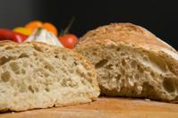 Interior of artisan bread