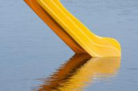 Slide in a Lake