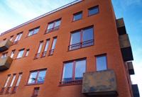 nice house with rusty balconies