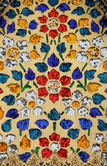 Mosaic Decoration, Bangkok, Thailand