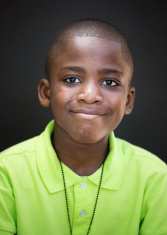 african american kid portrait