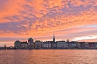 Sunset on Stockholm