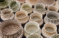 Copper Canyon of Mexico:  Pine-needle Baskets