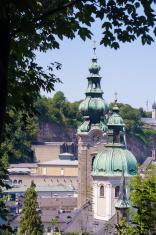 St. Peter's Abbey in Salzburg, Austria