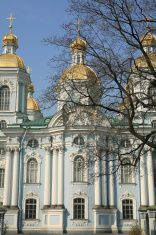 Saint Nicholas Cathedral ,St Petersburg, Russia
