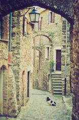 Genoa Caruggio retro look