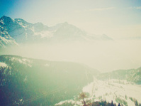 Bernina, Switzerland retro looking