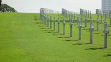 Philippines USA cemetery