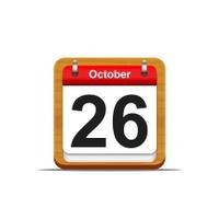 October 26.