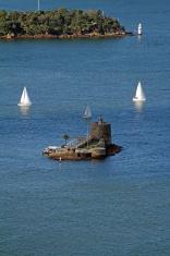 Fort Denison on Sydney Harbour